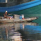 Chinese boat - China by fotinos