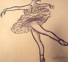 Dancer Study #3 by cjmrowlands