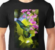 THE HUMMING BIRD, by E. Giupponi Unisex T-Shirt