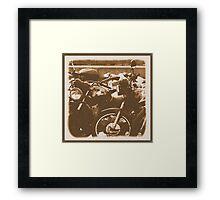 Honda Time Framed Print