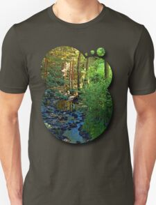 Forest, a river, a valley and summertime T-Shirt