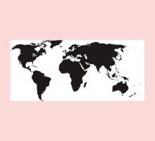 A Simple Globe One Piece - Long Sleeve