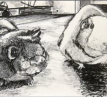 Guinea Pigs by OddOmission