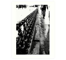 Walks Art Print