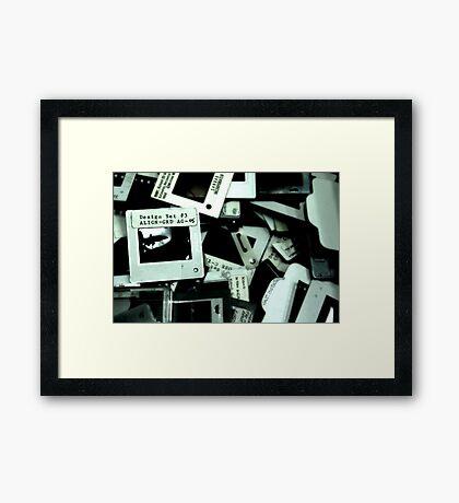Films Framed Print