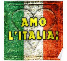 Amo Italia Poster