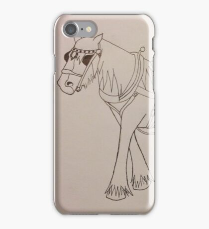 The Working Horse iPhone Case/Skin
