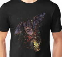 Scary Halloween bat Unisex T-Shirt