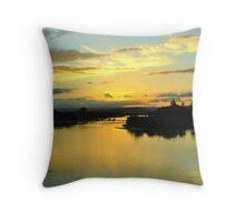 Sunshine Coast Throw Pillow