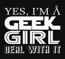 Geek Girl One Piece - Short Sleeve