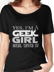 Geek Girl Women's Relaxed Fit T-Shirt