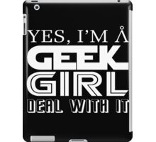 Geek Girl iPad Case/Skin