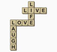 LOVE LIFE Scrabble by Laura McDonald