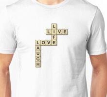 LOVE LIFE Scrabble Unisex T-Shirt