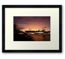Time of change Framed Print