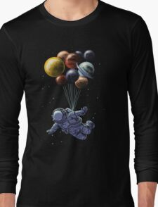 Space Travel Long Sleeve T-Shirt