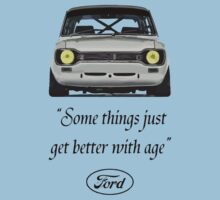 Ford Escort MK1 T-Shirt by ImageMonkey