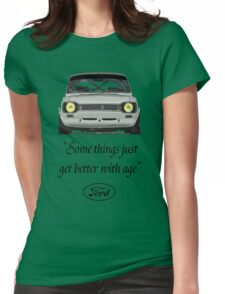 Ford Escort MK1 T-Shirt Womens Fitted T-Shirt
