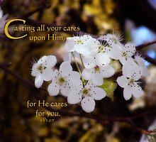 Cast your cares by vigor