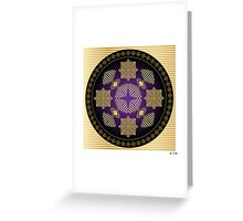 Fleuron Composition No. 245 Greeting Card