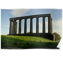 Edinburgh National Monument Poster