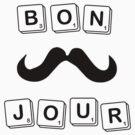 BONJOUR Scrabble by Laura McDonald