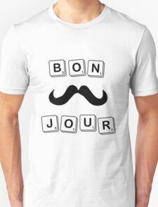 BONJOUR Scrabble Unisex T-Shirt