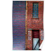 Brick Door Poster
