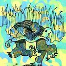Fancy Dancey Turtle by Nikki Cooper