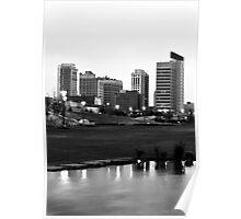 Birmingham Skyline at 6 AM Poster