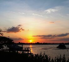 Dock on the bay by ♥⊱ B. Randi Bailey