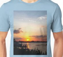 Dock on the bay Unisex T-Shirt