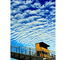 clouds in sky Photographic Print