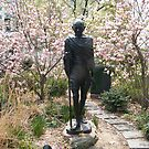 Gandhi Statue, Union Square, New York City by lenspiro