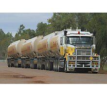 120.000 liter of fuel  Photographic Print