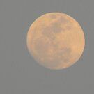 Moon at Sunset by Navigator