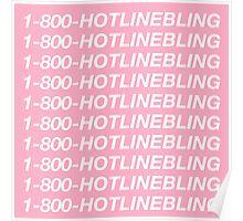 Drake Hotline Bling Poster