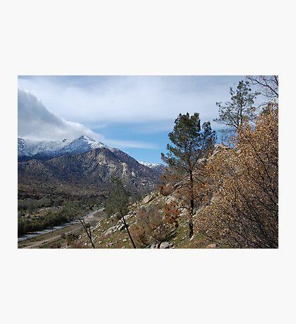hikin up the hills. Photographic Print