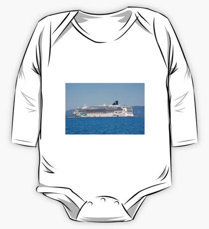 Norwegian Jade liner, Corfu One Piece - Long Sleeve