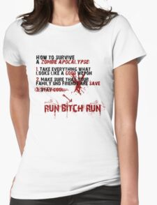 How To Survive Womens Fitted T-Shirt