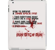 How To Survive iPad Case/Skin