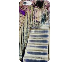 The Staircase in the Garden iPhone Case/Skin