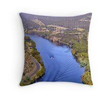 Tasmania, South Throw Pillow
