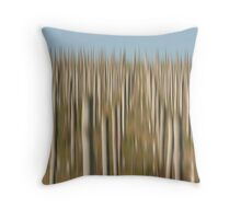 Winery Poles Throw Pillow