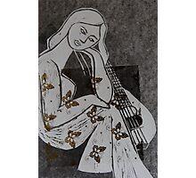 The mandolin Photographic Print