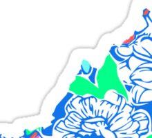Lilly States - Virginia Sticker
