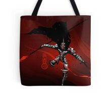 The Black King-Knight's Pawn Tote Bag
