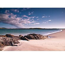 Across the Sound from Berneray Photographic Print