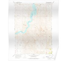 USGS Topo Map Oregon Rooster Comb 281313 1967 24000 Poster