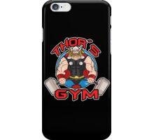 Thor's Gym iPhone Case/Skin
